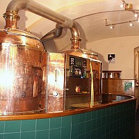 Brewing copper at Wieden Bräu